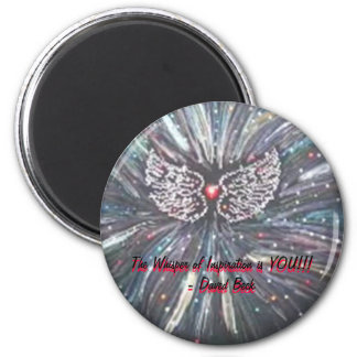 Whisper of Love 2 Inch Round Magnet