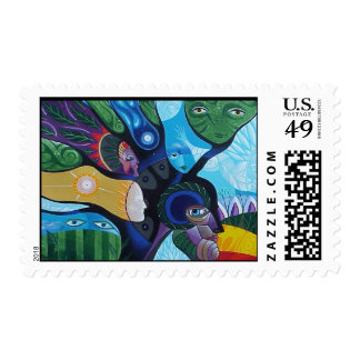 Whisper to Tree by Gregory Gallo Postage