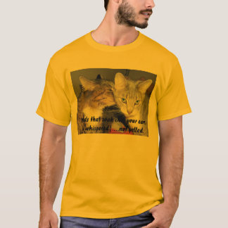 Whisper Your Words T-shirt for All