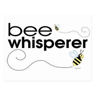 Whisperer de la abeja postales