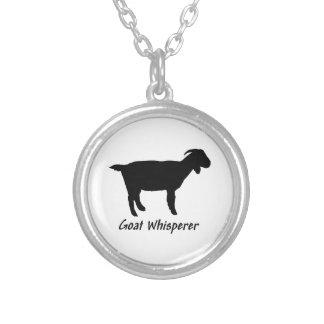 Whisperer de la cabra collar personalizado
