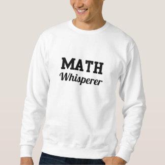 Whisperer de la matemáticas suéter