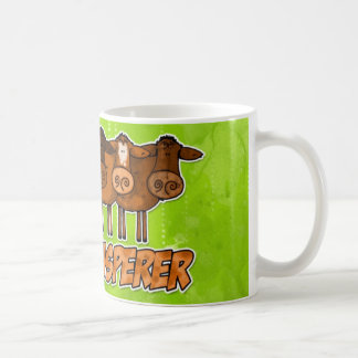 whisperer de la vaca taza