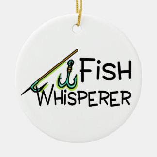 Whisperer de los pescados adorno de reyes