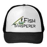 Whisperer de los pescados gorras de camionero