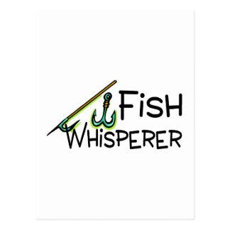Whisperer de los pescados postales