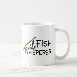 Whisperer de los pescados taza