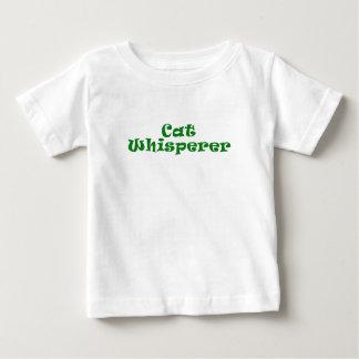 Whisperer del gato t-shirt
