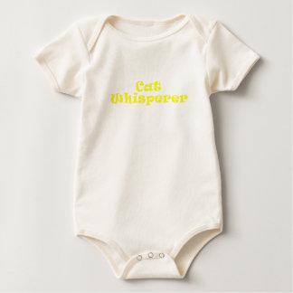 Whisperer del gato trajes de bebé