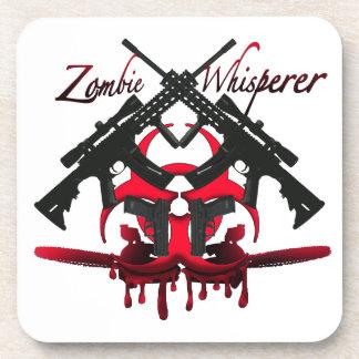 Whisperer del zombi posavasos de bebidas