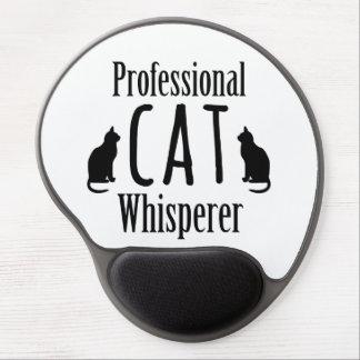 Whisperer profesional del gato alfombrillas con gel