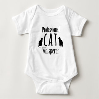 Whisperer profesional del gato tee shirts
