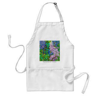 Whispering Flowers Adult Apron