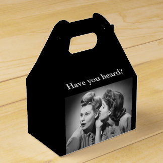 Whispering Party Favor Box