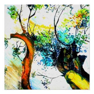 Whispering Leaves Poster