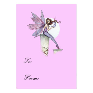 Whispering Moon Fairy gift Tag Large Business Card