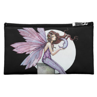 Whispering Moon Fairy Small Clutch Bag Purse Cosmetic Bags