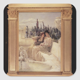Whispering Noon, 1896 (oil on canvas) (see also 19 Square Sticker