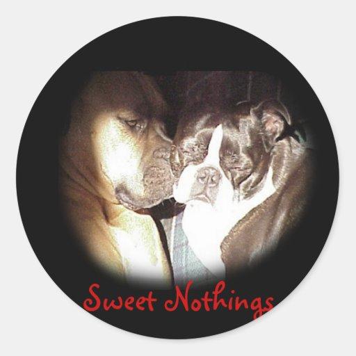 Whispering Sweet Nothings Sticker