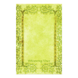 Whispering Vines - Medieval Stationery