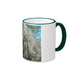 Whispering White Willow 11oz. Ringer Mug