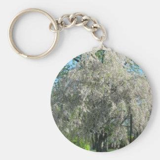 Whispering Willow Basic Round Button Keychain