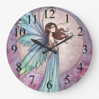Whispering Wind Fairy and Moon Clock