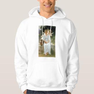 Whisperings of Love, William Adolphe Bouguereau Sweatshirt