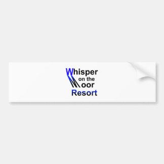 WhisperMoor copy.png Car Bumper Sticker