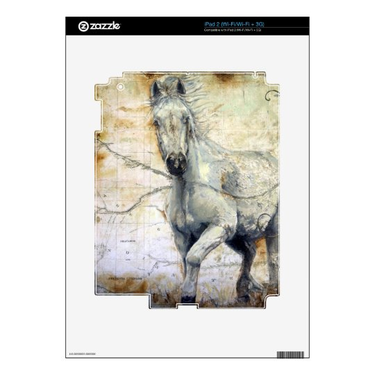 Whispers Across the Steppe Decals For iPad 2