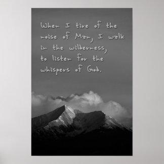 Whispers of God Poster