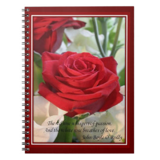 Whispers of  Love Spiral Notebook