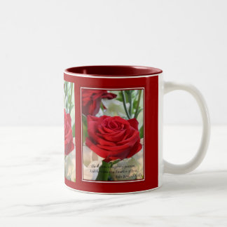 Whispers of  Love Two-Tone Coffee Mug