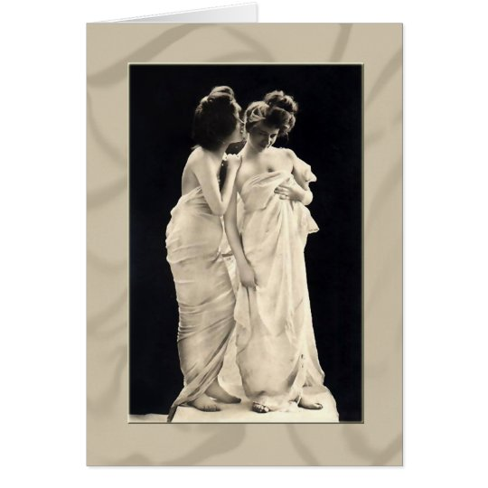 Whispers Victorian ladies note cards