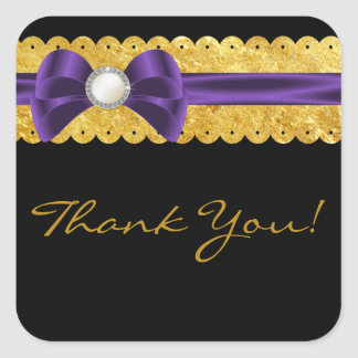 Whispers Wedding Favor Thank You Stickers