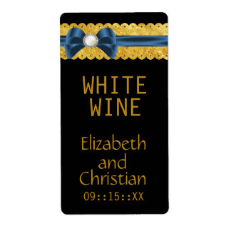 Whispers Wedding Wine Labels