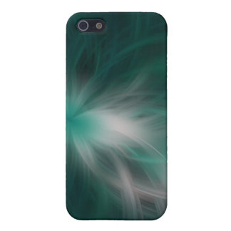 Whispy Green Cover For iPhone SE/5/5s