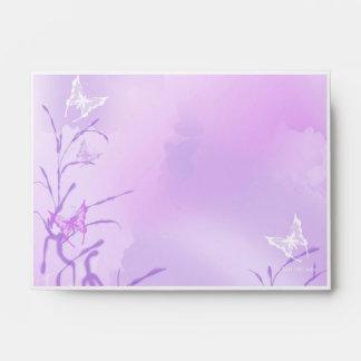 Whispy Lavenders Envelope