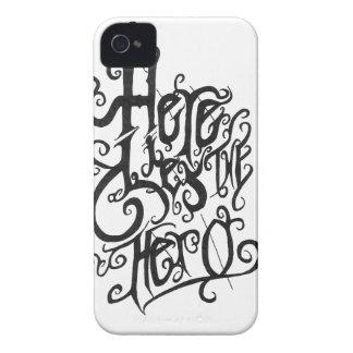 Whispy-Print Logo Blackberry Case. iPhone 4 Case