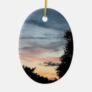 Whispy Sunset Ornament