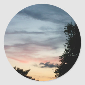 Whispy Sunset Stickers
