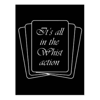 Whist Action Postcard