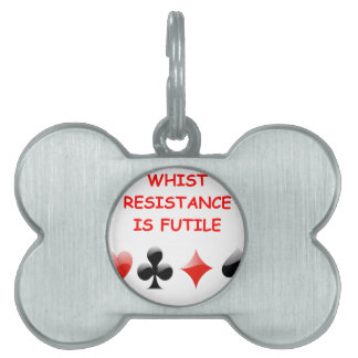 whist pet name tags