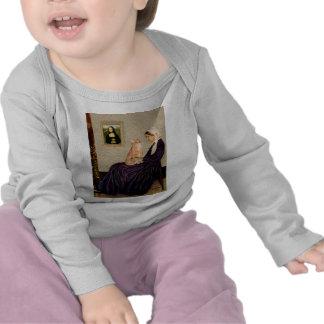 Whisterls Mother - Orange Tabby SH cat 46 T Shirts