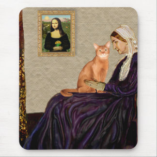 Whisterls Mother - Red Abyssinian Mouse Pad