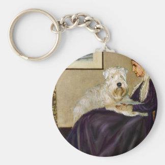 Whisterls Mother - Wheaten Terrier 1 Keychain