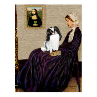 Whisters Mother - Japanese Chin 1 Postcard