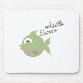 Whistle Blower Mouse Pad