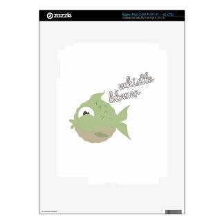 Whistle Blower iPad 3 Skins