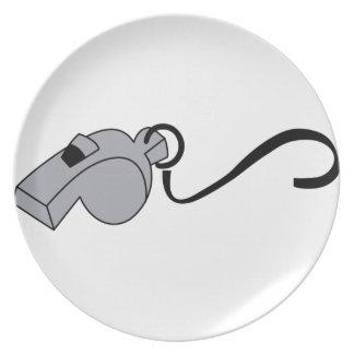 Whistle Dinner Plate